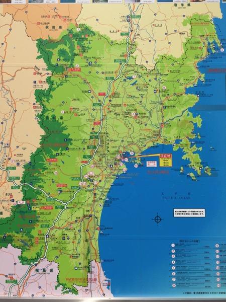Sanriku map