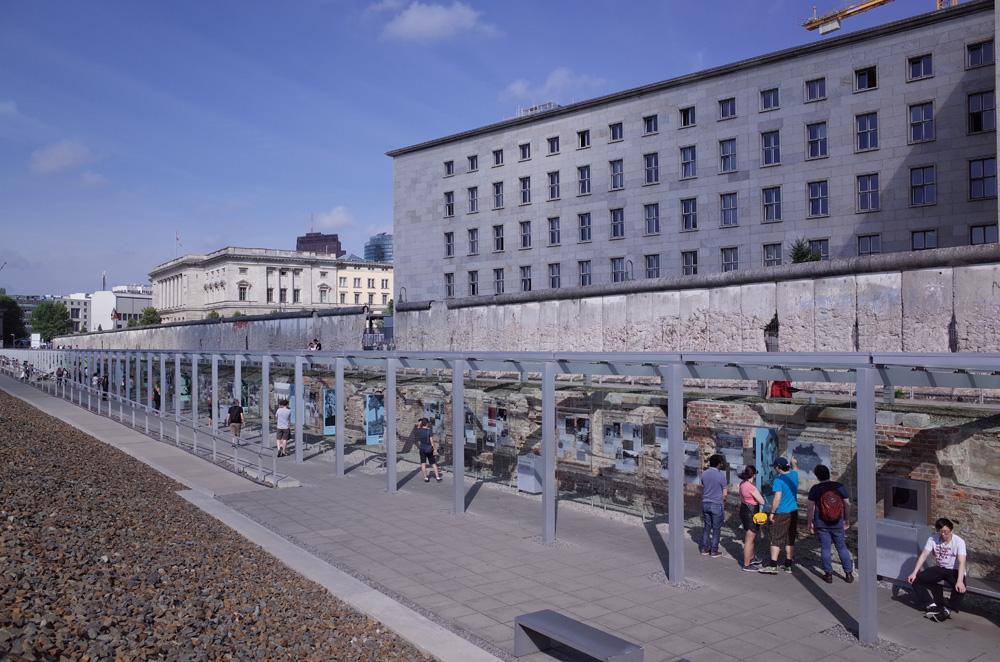 2017欧州への旅2 ドイツのベルリンの壁とユダヤ博物館
